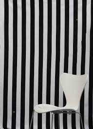 Black and White Vertical Blinds