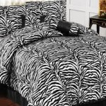 Black and White Zebra Bedding