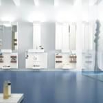 Blue Contemporay Bathroom Lighting