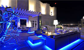 Blue LED Landscape Lights