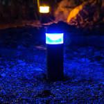 Blue LED Light Fixture