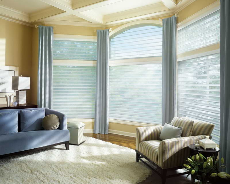Blue Window Treatment Ideas