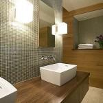 Boxy Scones Bathroom Light Fixture