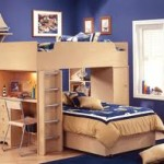 Boys Bunk Beds with Desk