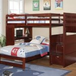 Boys Loft Bed with Stairs