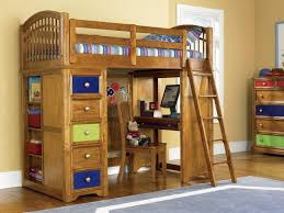 Boys Loft Bed with Desk