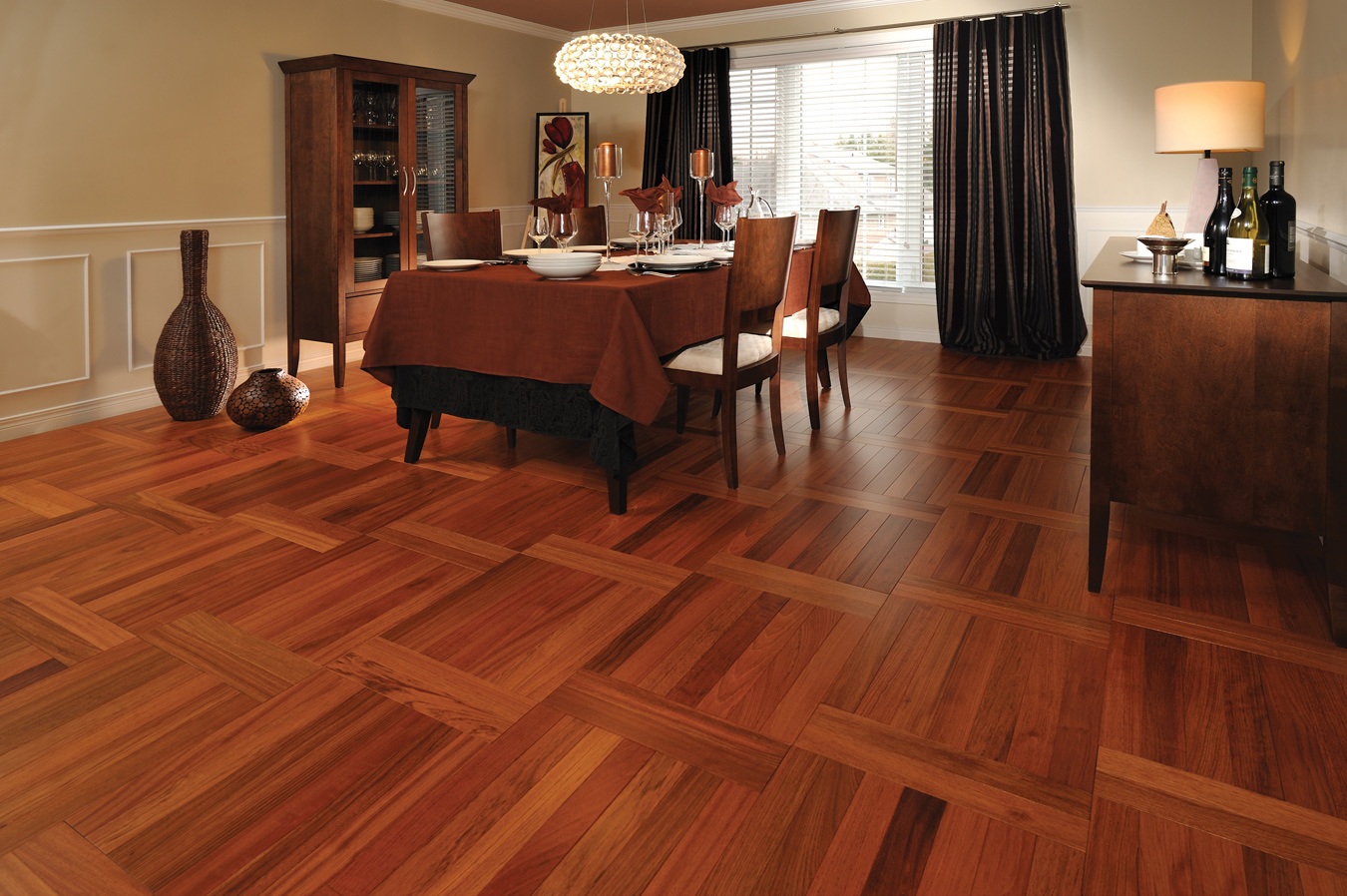 15 popular ideas and designs for hardwood floors qnud for Classic floor designs
