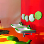 Bright Kids Bathroom Decor