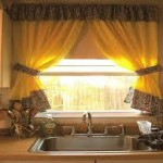 Bright Kitchen Curtain Ideas