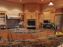 Brown Granite Counterts