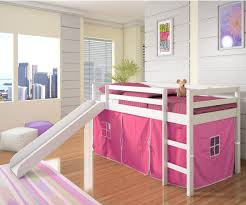 Bunk Beds with Slide for Girls