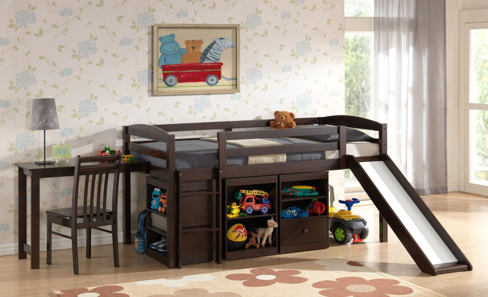 Bunk Beds with Storage 6189