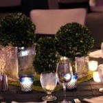 Candle Light Dining Table Centerpiece