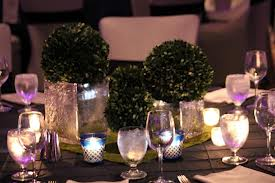 Candle Light Dining Table Centerpieces