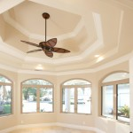 Unique Ceiling Fan Installation