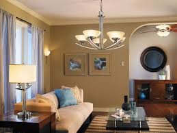 Celing Fan with Lights in Living Room