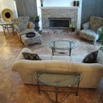 Ceramic Tile Flooring in the Living Room