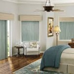 Cheap Vertical Blinds in the Bedroom