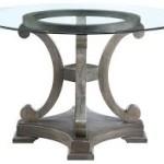 Circular Glass Dining Room Table