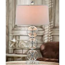 Glass Living Room Lamps