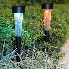 Colored Garden Lights