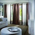 Colored Living Room Curtains