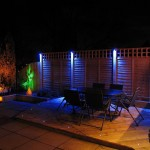 Colorful Garden Lighting Ideas