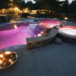 Colorful Outdoor Lighting