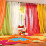 Colorful Window Curtains