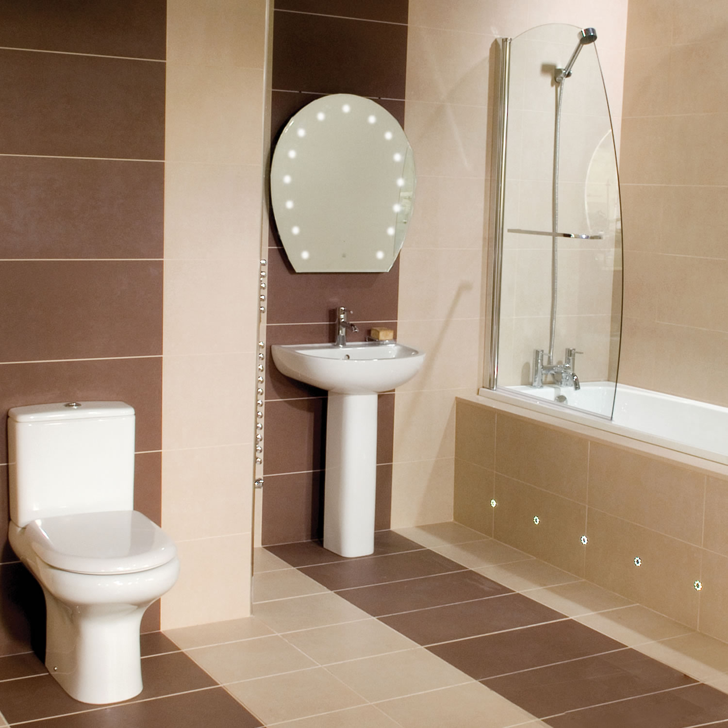 Small bathroom ideas qnud for Mini bathroom ideas