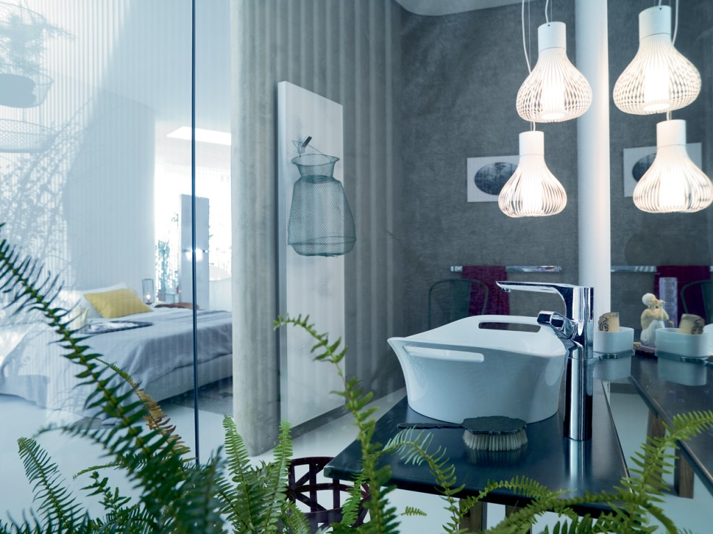 Contemporary Bathroom Pendant Light Fixtures