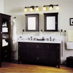 Contemporary Bathroom Units with Lights