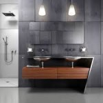 Contemporary Bathroom Vanities with Lights