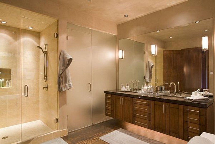Contemporary Bathroom Wall Light Fixtures