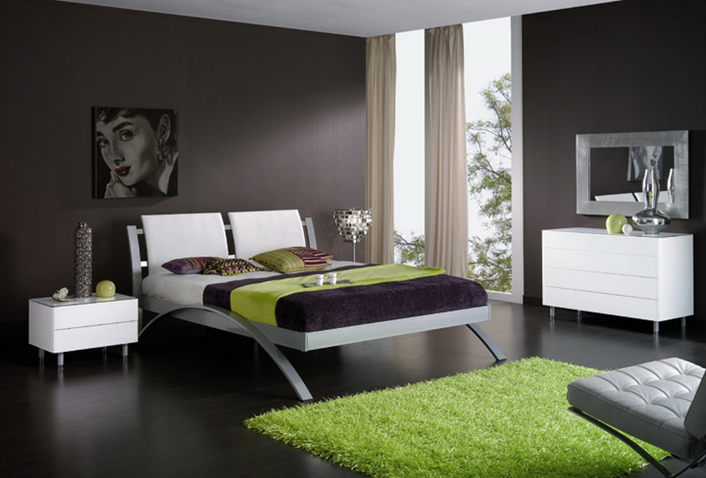 contemporary bedroom decor - Contemporary Bedroom Decor