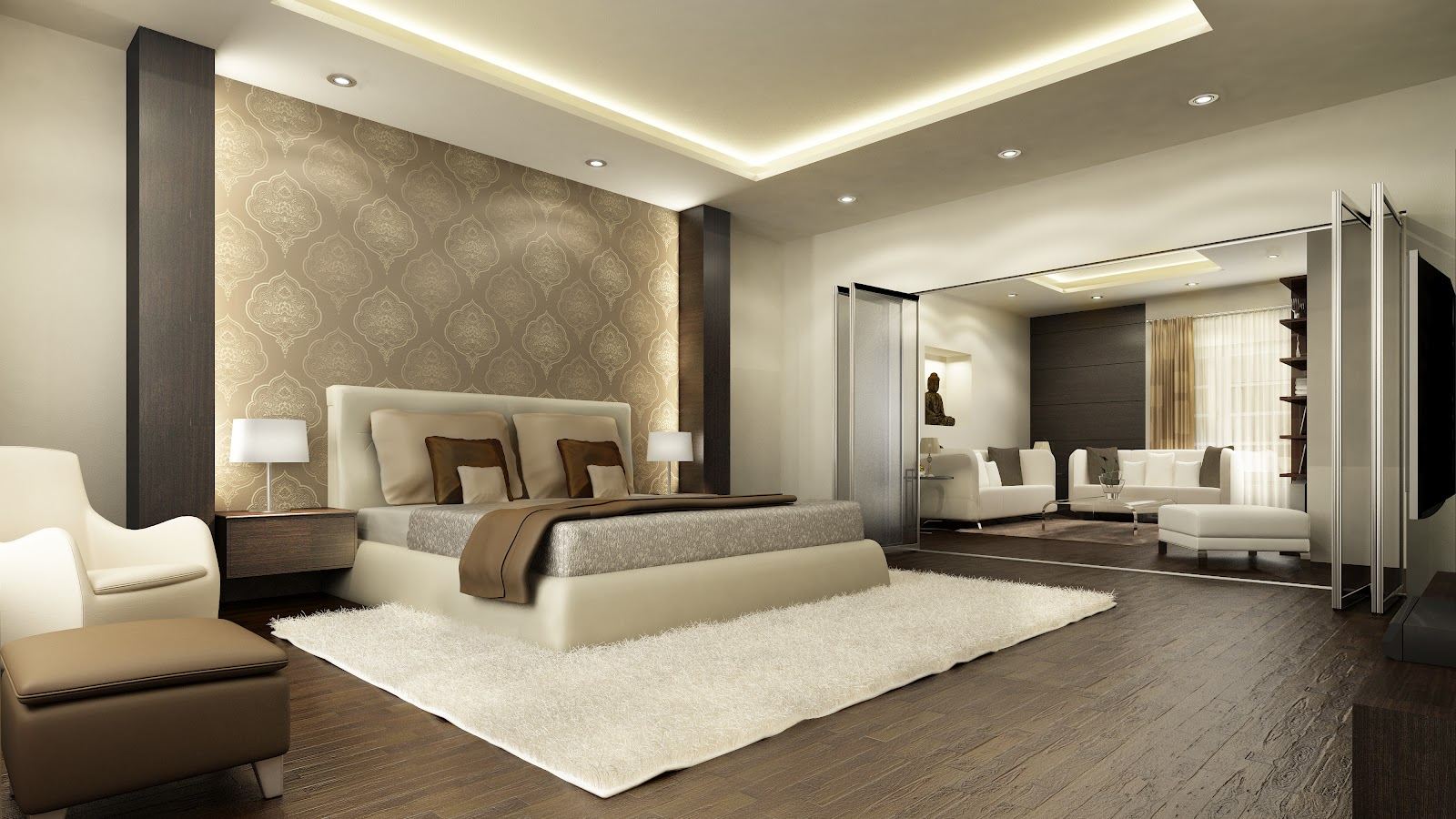 10 most popular master bedroom designs for 2014 qnud for Modern master bedroom designs 2014