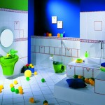 Contemporary Kids Bathroom