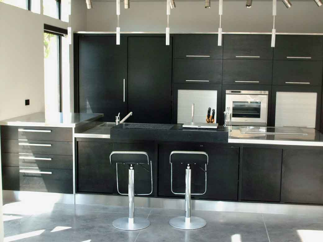 contemporary kitchen design - Stainless Steel Kitchen Ideas