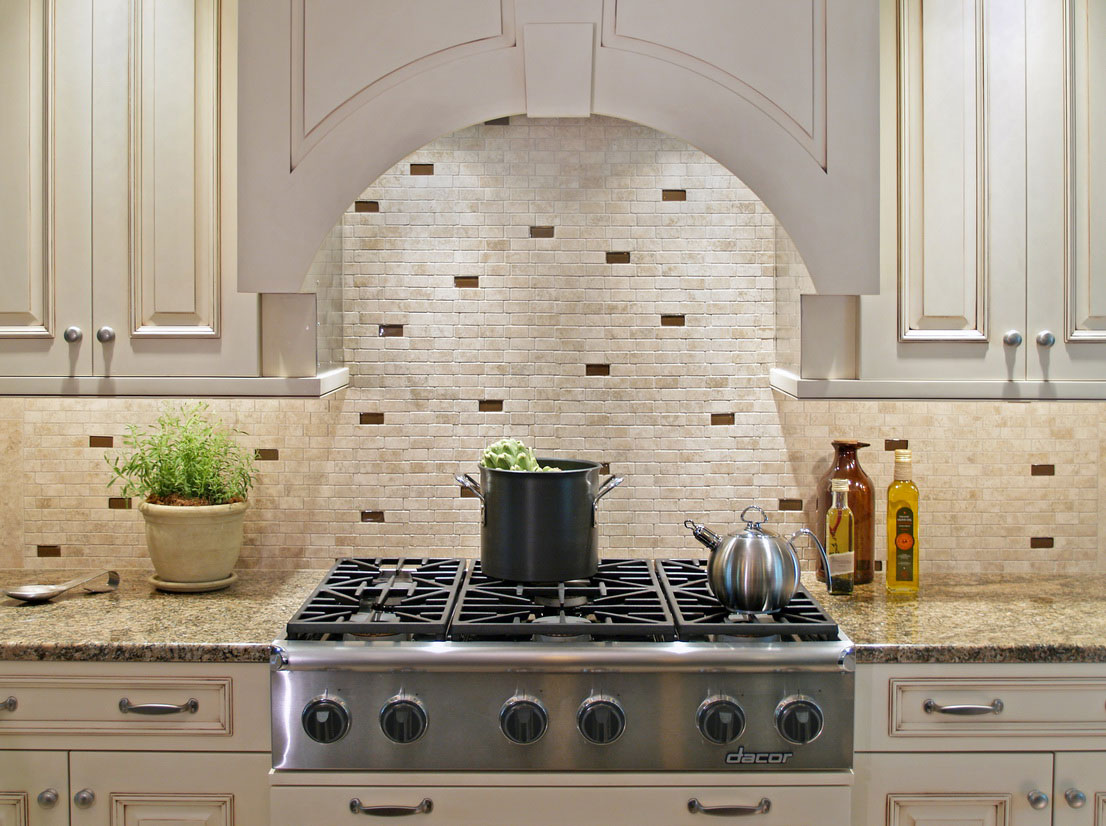Top 21 kitchen backsplash ideas for 2014 qnud for Contemporary kitchen backsplash