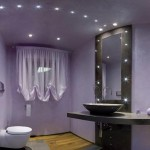 Contemporary LED Bathroom Light Fixtures