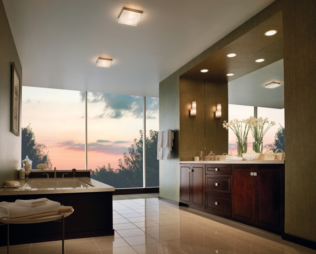 Contemporary Vanity with Lights