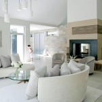 Contemporary White Living Room Ideas