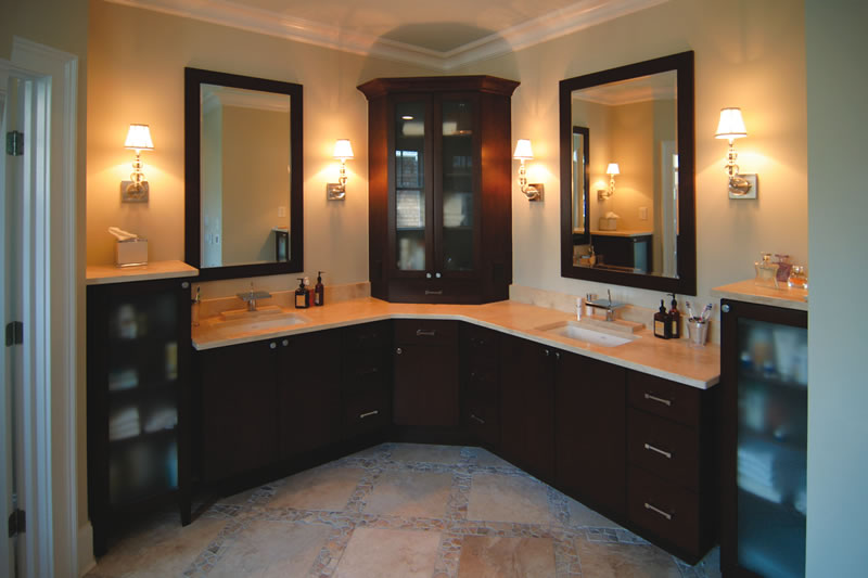 Corner Bathroom Vanity 3258