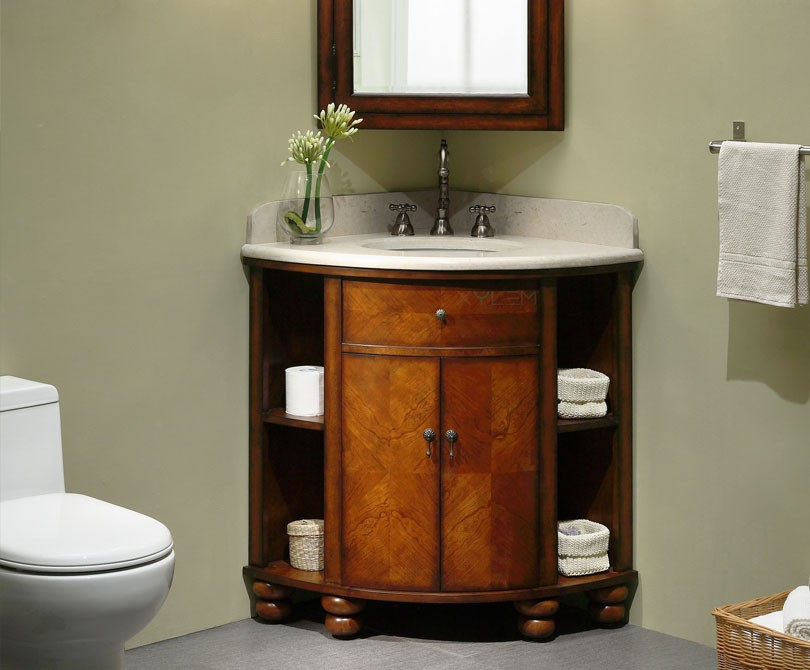 Corner Bathroom Vanity 6046