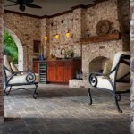 Outdoor Rooms with Fireplaces