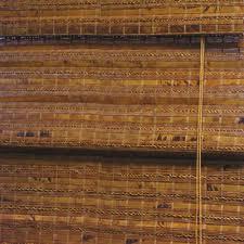 Custom Bamboo Window Treatments