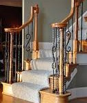 Custom Wrought Iron Balusters