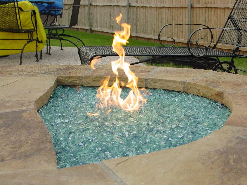 DIY Outdoor Fireplace