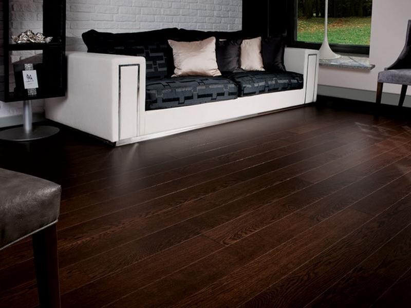 Dark Bamboo Hardwood Floors