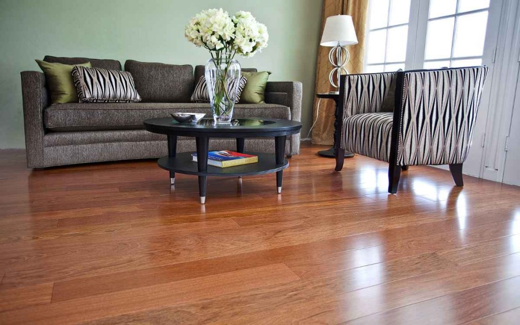 Dark Maple Hardwood Floors